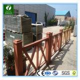 Producteur de la Chine de l'extrusion extérieure WPC clôturant pour le pavillon