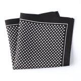 De modieuze Zakdoek Hanky van de Zak van de Plaid van de Zijde Polyester Afgedrukte Vierkante