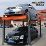 Le levage Staker de stationnement de véhicule de poste quatre avec Ce/TUV a certifié