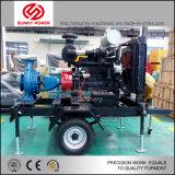 Bomba de agua de alta presión conducida por el motor diesel para dragar