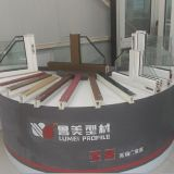 [هيغقوليتي] [بفك] نافذة قطاع جانبيّ بلاستيكيّة نافذة قطاع جانبيّ في الصين