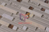 결정과 Stone Mixed Strip Mosaic Tile (CFS511)