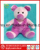 중국 공급자에게서 분홍색 귀여운 견면 벨벳 돼지 장난감