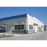 Colorear el almacén prefabricado de acero del edificio