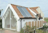 Standard chiaro Steel Structure Villa con Solar (100 -250Square Meters)