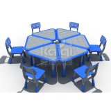 Mobiliário escolar a partir Kaiqi mesa e cadeiras para crianças com boa qualidade