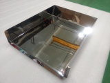 O OEM precisa de aço inoxidável a folha de partes separadas do Espelho