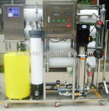 planta de la ósmosis reversa 4000L/H con los recipientes del reactor de la membrana de la ósmosis reversa