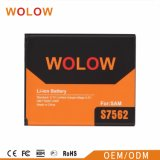 工場OEM ODMのSamsungのための移動式リチウム電池S7562