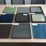 着色された低いEガラス/低いE絶縁された構築ガラス