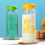 Fashion Design Multicolor Borosilicate Knell Toilets Bottle Portable Sport Bottle Cup