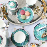 15 parti della Cina di pomeriggio di tè creativo di ceramica europeo inglese dell'insieme