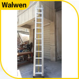 3 Ladder van het Aluminium van de sectie de Telescopische Brandbestrijdings met Goedkeuring GS