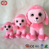 Caniche de la famille de grands yeux Cutie chien en peluche doux jouet en peluche