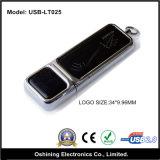 USB di cuoio Memory Stick su Key (USB-LT025)