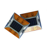 Dual Sides Aluminium Rouge LED 3m Réflecteur Solar Road Marker