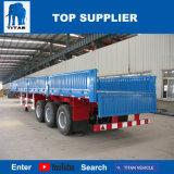 Titan 40t 60t Adral el transporte de contenedores de carga de la pared lateral de remolque semi remolque plano