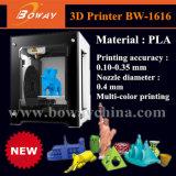 Une université d'impression de bouton modelant l'imprimante simple bon marché multicolore de l'extrudeuse 3D de PLA de machine