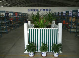 Conch Type II PVC / UPVC Garden Fence