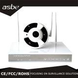 Camera van het Toezicht van Fisheye van de Veiligheid van kabeltelevisie HD van Vr de Panoramische Draadloze voor Huis