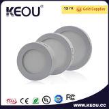 Ce/RoHSの証明書LEDの表面の照明灯の白かスライバフレーム2700k-6500k