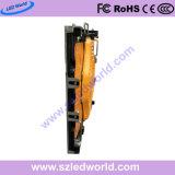 P10 1/2 검사 높은 광도 광고를 위한 640X640mm 정지하 계급 내각을%s 가진 옥외 임대료 발광 다이오드 표시 패널판