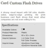 Custom Business Click Card Full Color Logo USB Flash Drive