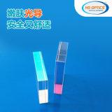 40*30*8 vidro safira beleza guia de luz de cristal de safira safira do corpo com o revestimento do bloco de guia de luz