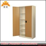 2 compartiments industriels de bonne qualité paille de fer de Module de mémoire en métal de la porte Jas-008/
