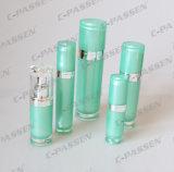 Het nieuwe Schoonheidsmiddel die van de Aankomst de AcrylKruik verpakken van de Room van de Fles van de Lotion (ppc-cps-059)