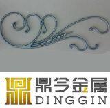 Baranda de hierro forjado decorativo piezas para la venta