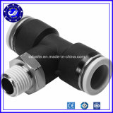 Adaptador rápido de plástico de un solo toque Adaptadores tubo neumático