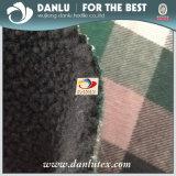 Покрашенная пряжей ватка Berber ткани шотландки Bonded для пальто Ladys