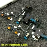 Het hete Verkopen voor iPhone 4 4G de Audio Flex Kabel van de Knoop van de Schakelaar van het Volume van de Hefboom Stodde Stille