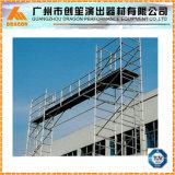 Tour d'échafaudage en aluminium, échafaudages portables, échafaudages mobiles à vendre