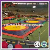 Couvre-tapis de lutte de lutte de Fermé-Cellule de PVC de couvre-tapis de judo de couverture de type d'art martial de vente chaude