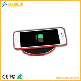 Almofada sem fio do carregador do mini iPhone esperto dos acessórios do telefone de pilha do curso