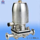 Gesundheitlicher Edelstahl-pneumatisches Membranventil mit Bescheinigung CER-ISO-3A