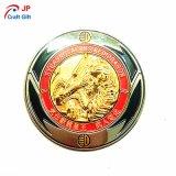 販売のためのカスタマイズされた高品質の金のプルーフコイン