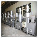 Wegwerfeßstäbchen-Einäscherung-Verbrennungsofen für industrielle Fabrik (zwei Brenner)