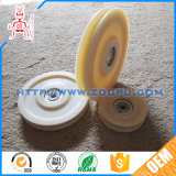 Tiefer Teflonplastikdrahtseil-Riemenscheiben-Antriebsscheibe der Nut-PTFE mit Block