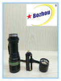 Zoom Flash Light Long Range Long Lumen Rechargeable Torch