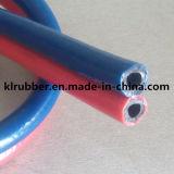 Gree ed Assemblea di tubo flessibile gemellare di gomma rossa della saldatura