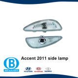 Фабрика бампера акцента 2011 Hyundai светлая