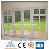Profilo di alluminio su ordinazione One-Stop per il portello e la finestra di alluminio