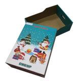 Cajón de embalaje de regalo de Navidad Caja de papel