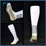 Long unisexe Chaussettes de football hommes anti-patinage chaussettes de soccer de chaussettes de coton