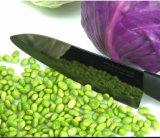 Couteau de cuisinier en céramique noir Damas de 6.7 po