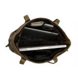 方法デザイン良質の織り方の革女性ショルダー・バッグのトートバック