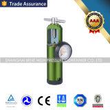 セリウムISOの流量計が付いている医学の酸素のガスの圧力調整器